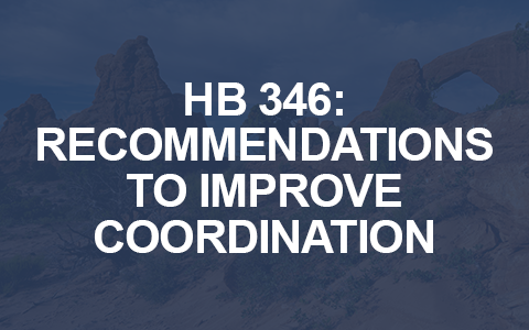 HB 346: Recommendations to improve coordination